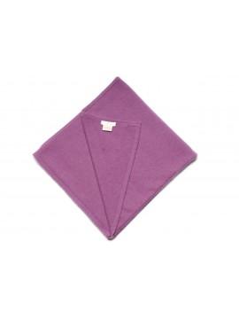 100% cashmere poncho purple