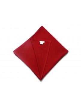 100% cashmere poncho DARK RED