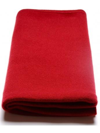 Poncho 100% cachemire Rouge bordeaux