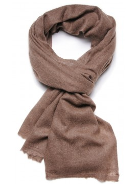 NATURAL 1 CHESNUT, 100% cashmere stole