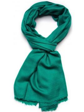 Etole véritable Pashmina 100% cachemire vert émeraude