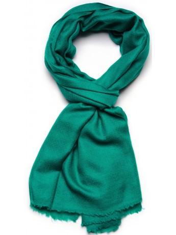 Genuine emerald green pashmina 100% cashmere