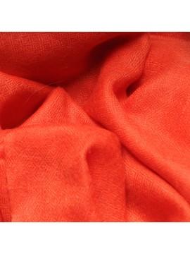 Genuine orange pashmina 100% cashmere