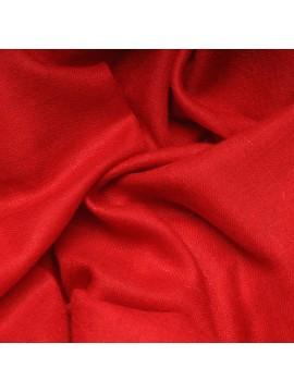 Vera pashmina 100% cashmere Stola Tango rosso