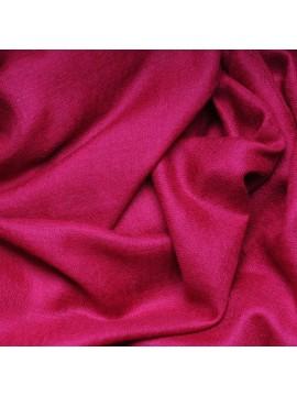 Véritable Pashmina 100% cachemire rose fuchsia