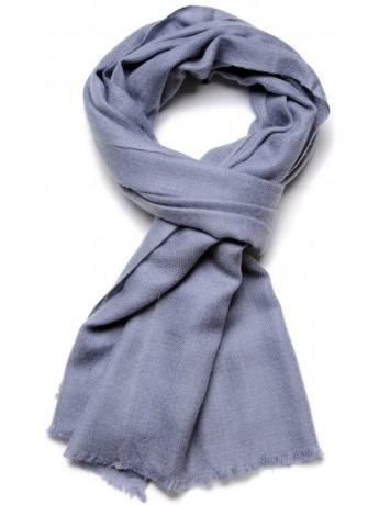 Genuine forget-me-not blue pashmina 100% cashmere