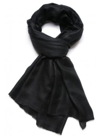 Genuine black pashmina 100% cashmere