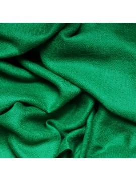 Véritable Pashmina 100% cachemire Vert émeraude format châle (1m x 2m)