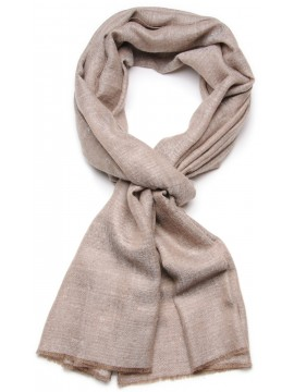 Genuine natural light brown pashmina 100% cashmere