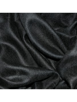 Genuine black handwoven cashmere pashmina square scarf