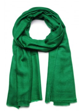 Genuine pashmina shawl 100% cashmere emerald green big size