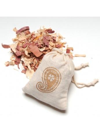 Sachet de copeaux de bois de cèdre parfumé