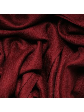 Genuine pashmina shawl 100% cashmere carmine red big size