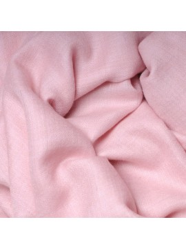 Genuine pashmina shawl 100% cashmere light pink big size