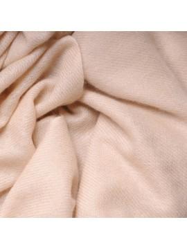 TWILL BEIGE CHIARO, sciarpa 100% cashmere