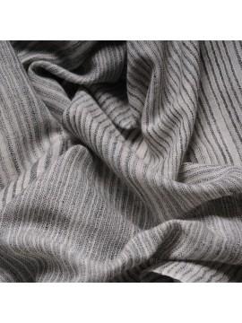 ALEX GREY, real pashmina 100% cashmere with Ikat stripes