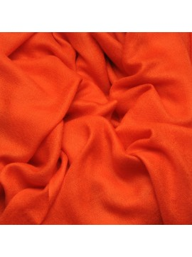 Handwoven cashmere pashmina Shawl Orange