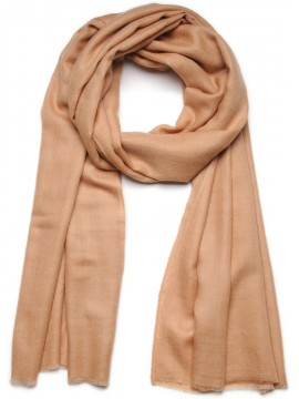 Genuine pashmina shawl 100% cashmere camel big size