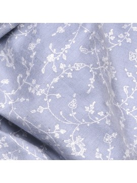 BIANCA SKY, real pashmina 100% cashmere with full handmade embroideries