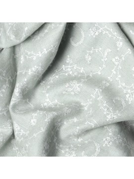 BIANCA WATERGREEN, real pashmina 100% cashmere with full handmade embroideries