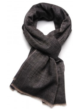 REVA NIGHT, Handwoven cashmere pashmina Stole dual shaded