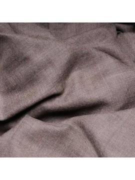 Handwoven cashmere pashmina XXL Natural dark grey brown
