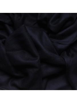 Véritable Pashmina 100% cachemire L'Étole Bleu nuit