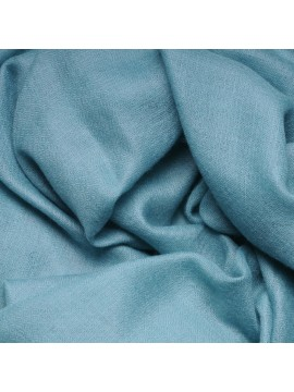 Vera pashmina 100% cashmere Stola Fiume blu