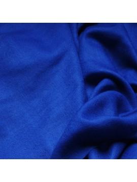 Vera pashmina 100% cashmere Stola Blu cobalto