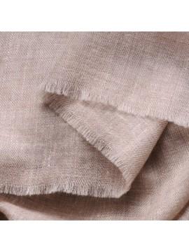 TOOSH PASHMINA Natural grey brown Deluxe handwoven cashmere pashmina