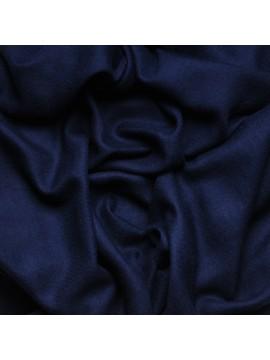 Vera pashmina 100% cashmere Stola Blu navy
