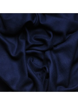 Véritable Pashmina 100% cachemire L'Étole Bleu navy