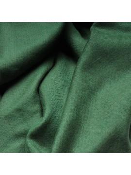 Véritable Pashmina 100% cachemire Vert sapin Grand modèle