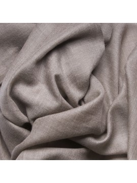 Handwoven cashmere pashmina Stole Natural dark grey brown