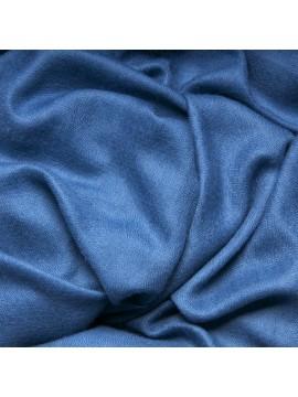 Véritable Pashmina 100% cachemire L'Étole Bleu azur