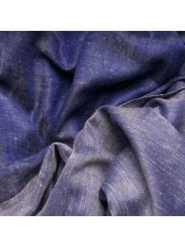 SWAN DENIM, Handwoven cashmere pashmina Shawl reversible