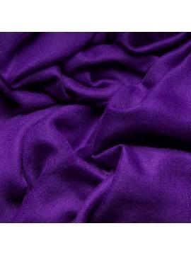 Handwoven cashmere pashmina Stole violet