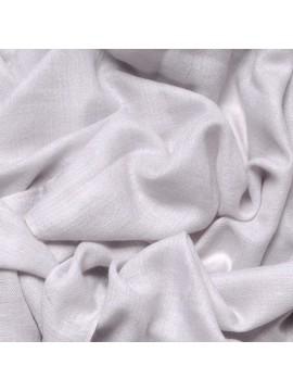 Etole véritable Pashmina 100% cachemire gris perle