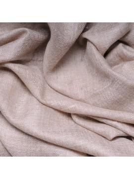 Véritable Pashmina 100% cachemire Beige clair naturel non teint format châle (1m x 2m)