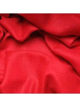 Véritable Pashmina 100% cachemire Rouge tango Grand modèle