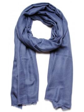 Handwoven cashmere pashmina Shawl Slate grey