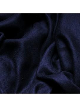 Le Véritable Pashmina 100% cachemire XXL bleu marine format plaid