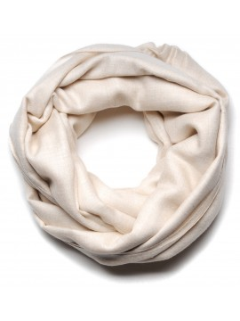 Genuine pashmina shawl 100% cashmere natural white blanket size