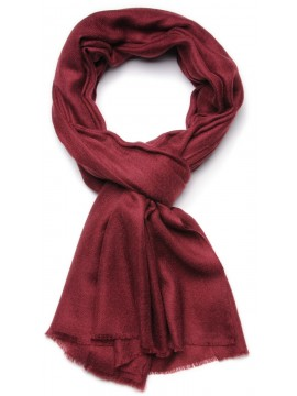 Genuine brick red pashmina 100% cashmere