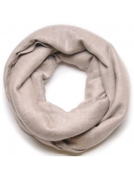 Genuine pashmina shawl 100% cashmere natural light brown blanket size