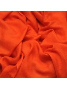 Handwoven cashmere pashmina Shawl Orange
