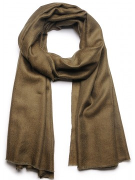 Handwoven cashmere pashmina Shawl Army green