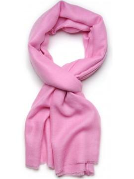 Handwoven cashmere pashmina Stole pink