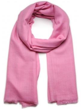 Handwoven cashmere pashmina Shawl Pink