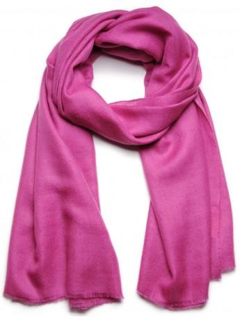 Handwoven cashmere pashmina Shawl Heather pink